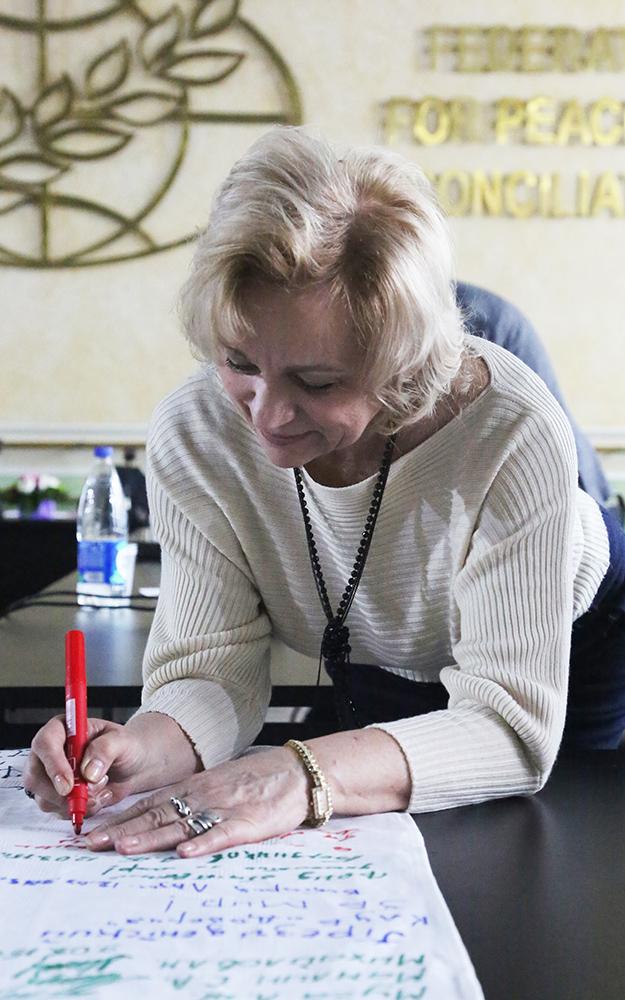 Маркова Надежда- поэт и художник за мир во всем мире!